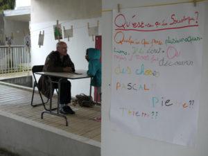 Bureau des-questions. Rennes. Projet-Expédition. Avril 2012